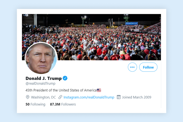 Twitter and White House deny hack of Trump's Twitter account