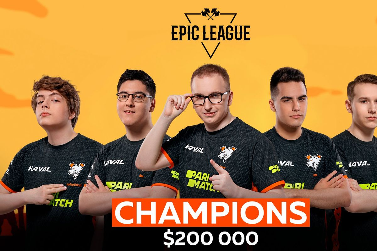 Virtus Pro defeats OG for price of $200.000 in the final of the Dota 2 Epic League