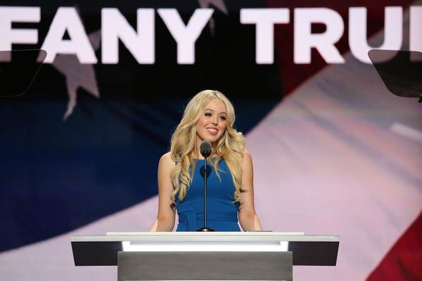 Tiffany Trump speaks at the Republican National Convention 2016