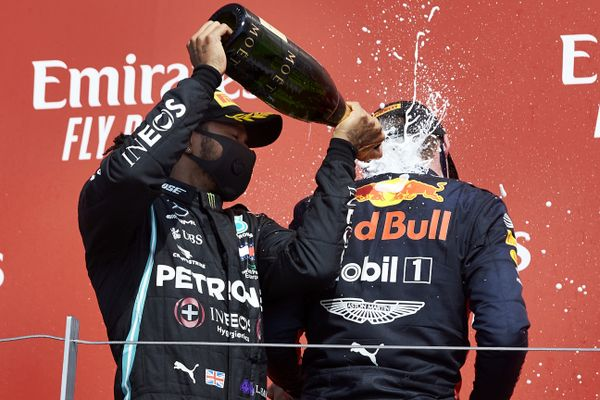 Verstappen wins 70th Anniversary GP in Silverstone