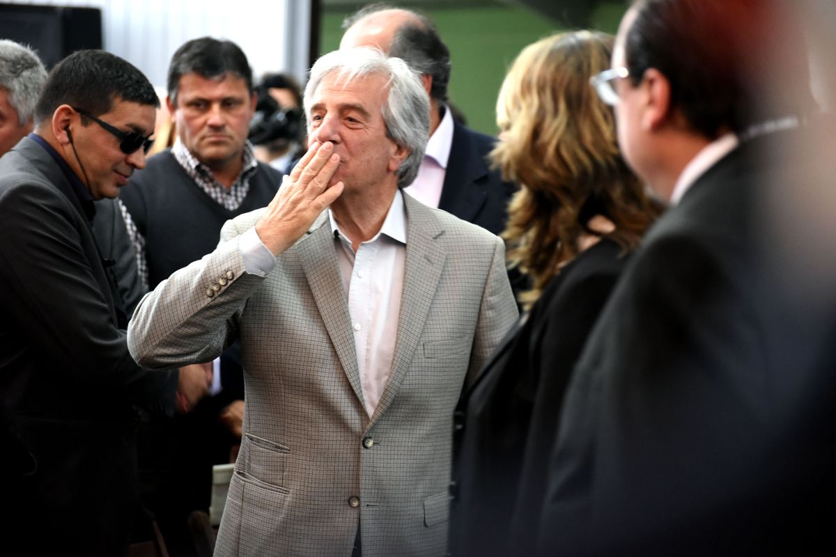 Tabaré Vázquez former first left wing president of Uruguay, passed away