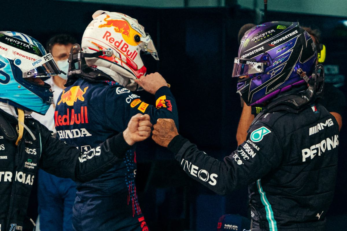 Max Verstappen takes pole position at the Bahrain Grand Prix