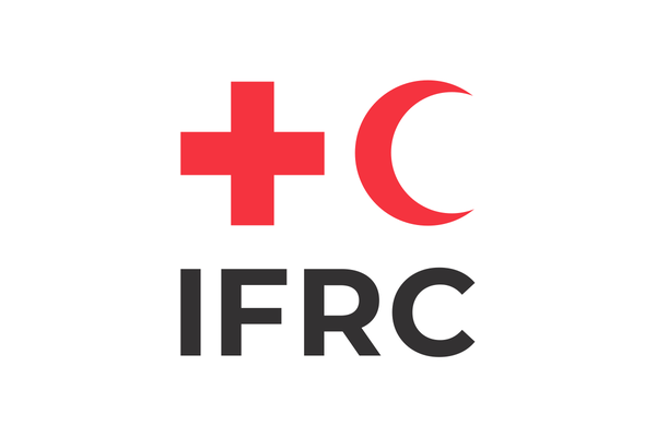 Logo of the International Federation of Red Cross and Red Crescent Societies