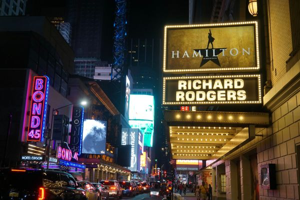 Broadway theatre, New York City