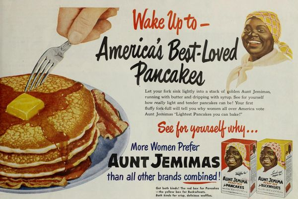 1951 ad for Aunt Jemima - America's Best-Loved Pancakes