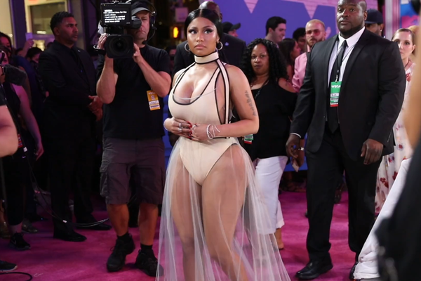 Nicki Minaj at 2018 VMA Red Carpet
