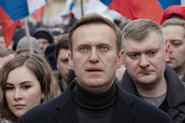 Oppositionist Alexei Navalny, February 2020