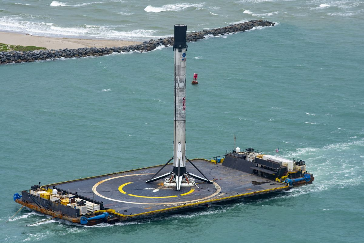 SpaceX going to launch a South Korean satellite Monday