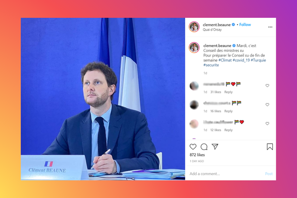 French minister for Europe Clément Beaune comes out as gay