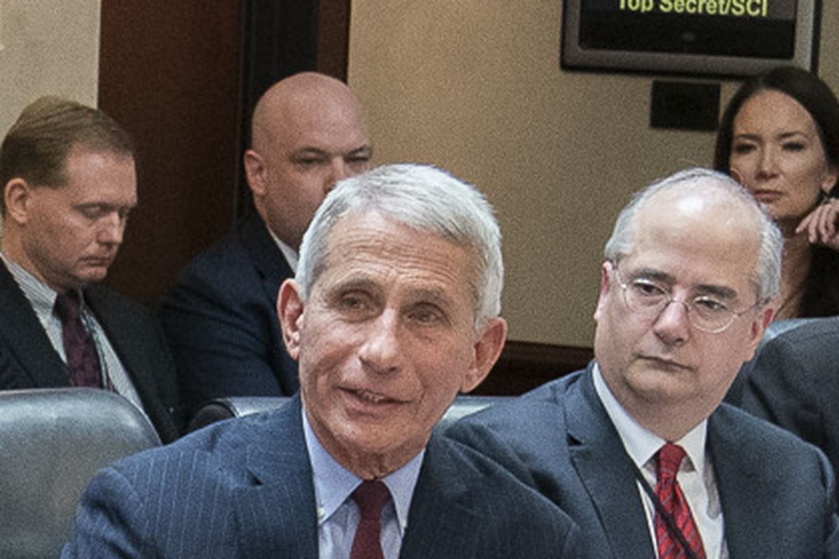 Fauci says that White House has ordered NIH to cancel Covid-19 research funding