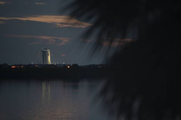 Sunrise from Launch Complex 39A