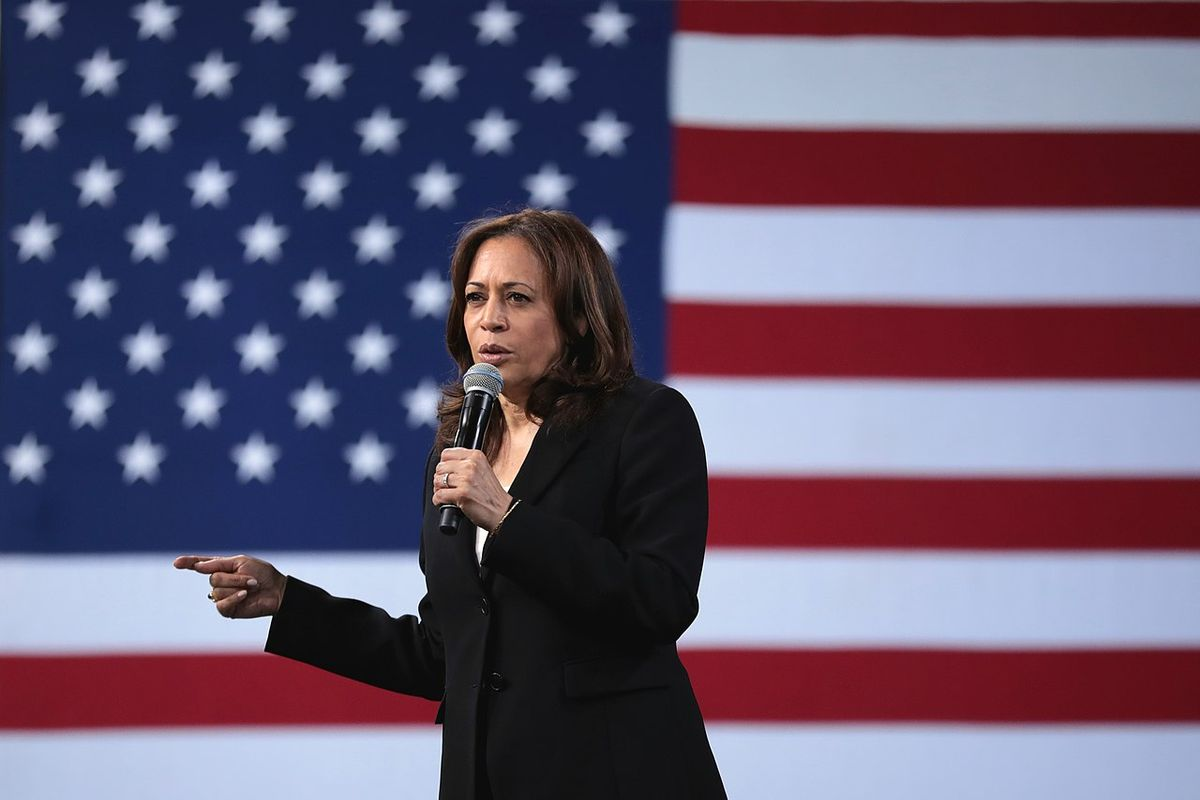Kamala Harris met with Jacob Blake in Wisconsin