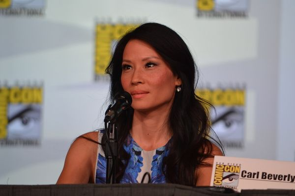 Lucy Liu at Elementary panel at 2012 Comic-Con