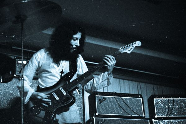 Peter Green with Fleetwood Mac in 1970