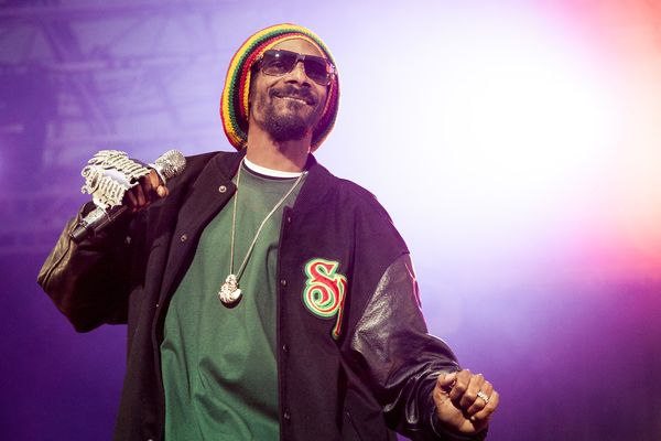 Snoop Dogg at Hovefestivalen in 2012