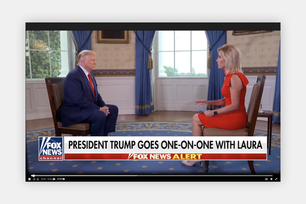 "President Donald Trump on ""The Ingraham Angle"""