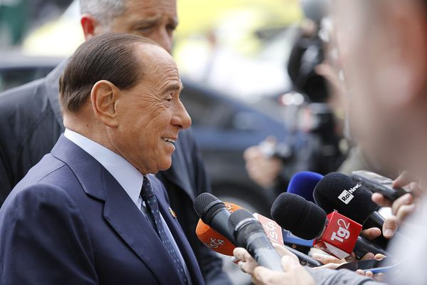 Berlusconi at the EPP Summit, Brussels, May 2019