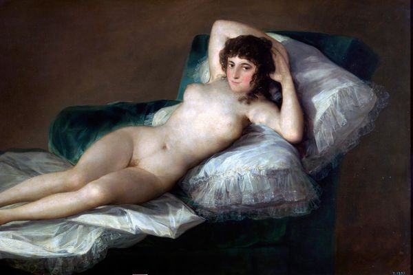 """The Naked Maja"" by Francisco Goya"