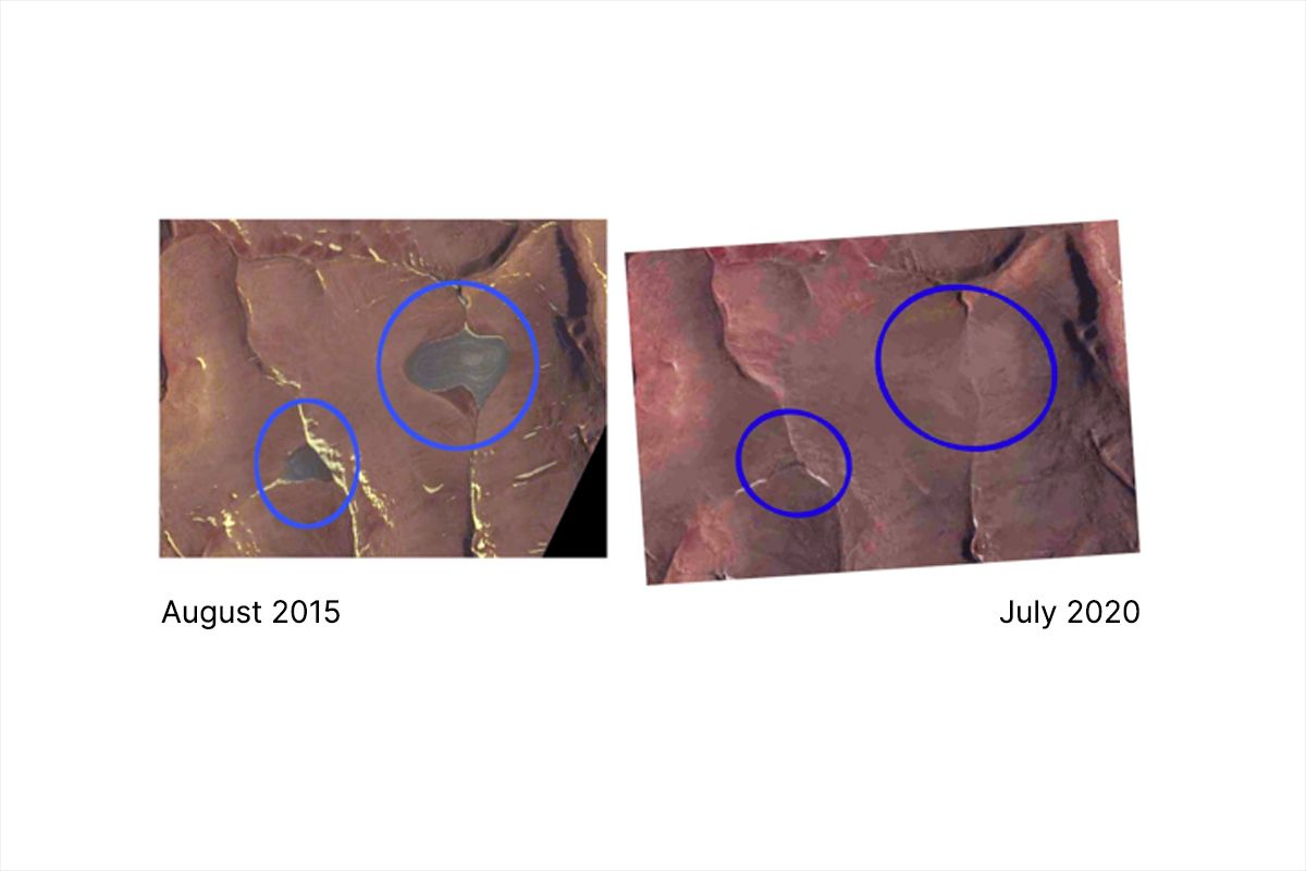 New NASA satellite images reveal disappearance of St. Patrick Bay ice caps