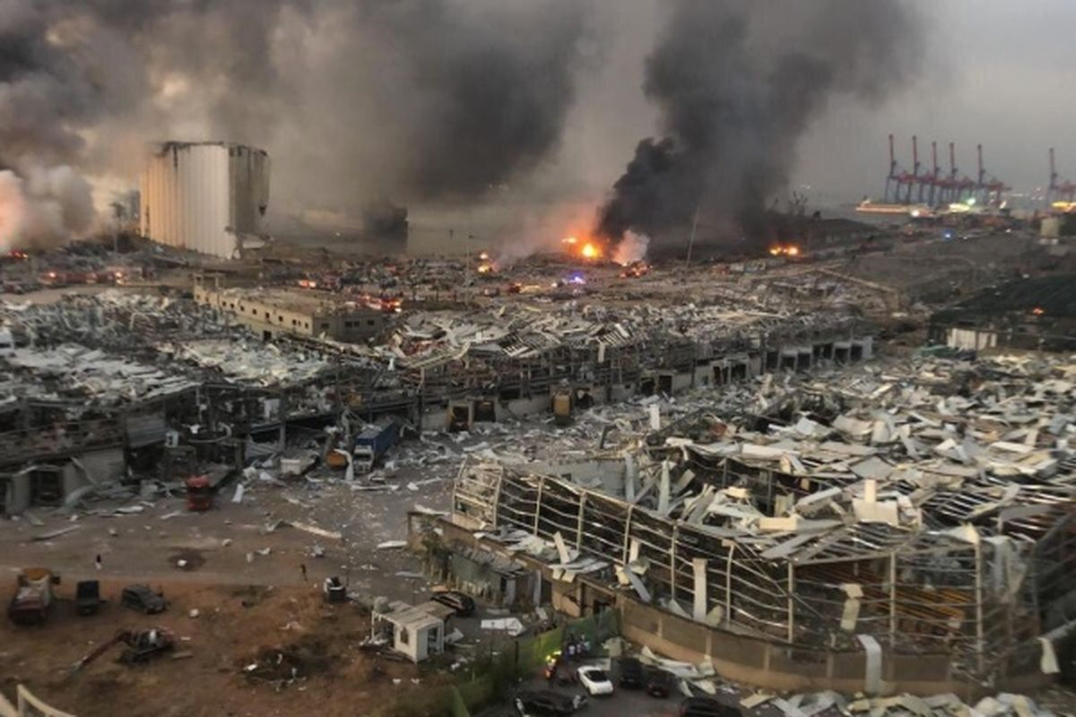 Beirut explosion kills at least 100, thousands injured