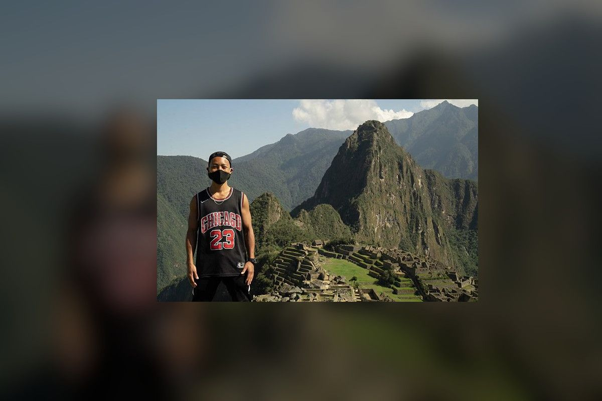 Japanese tourist is the first visitor to Machu Picchu following the Covid-19 closure