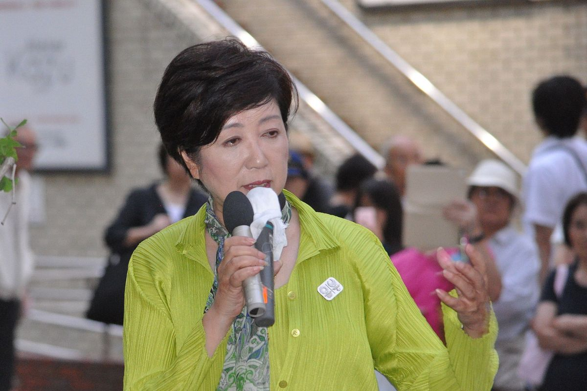 Tokyo's first female governor gets re-elected for second term