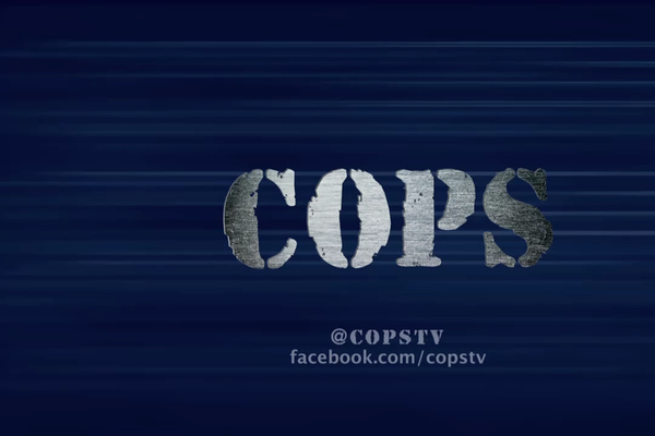 "Logo of Reality TV Show ""Cops"""