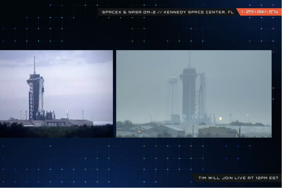 Everyday Astronaut to livestream NASA's SpaceX Demo-2 launch