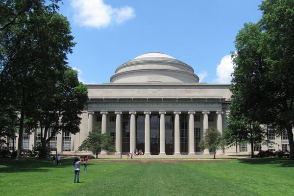 MIT Building 10 and the Great Dome, Cambridge Massachusetts