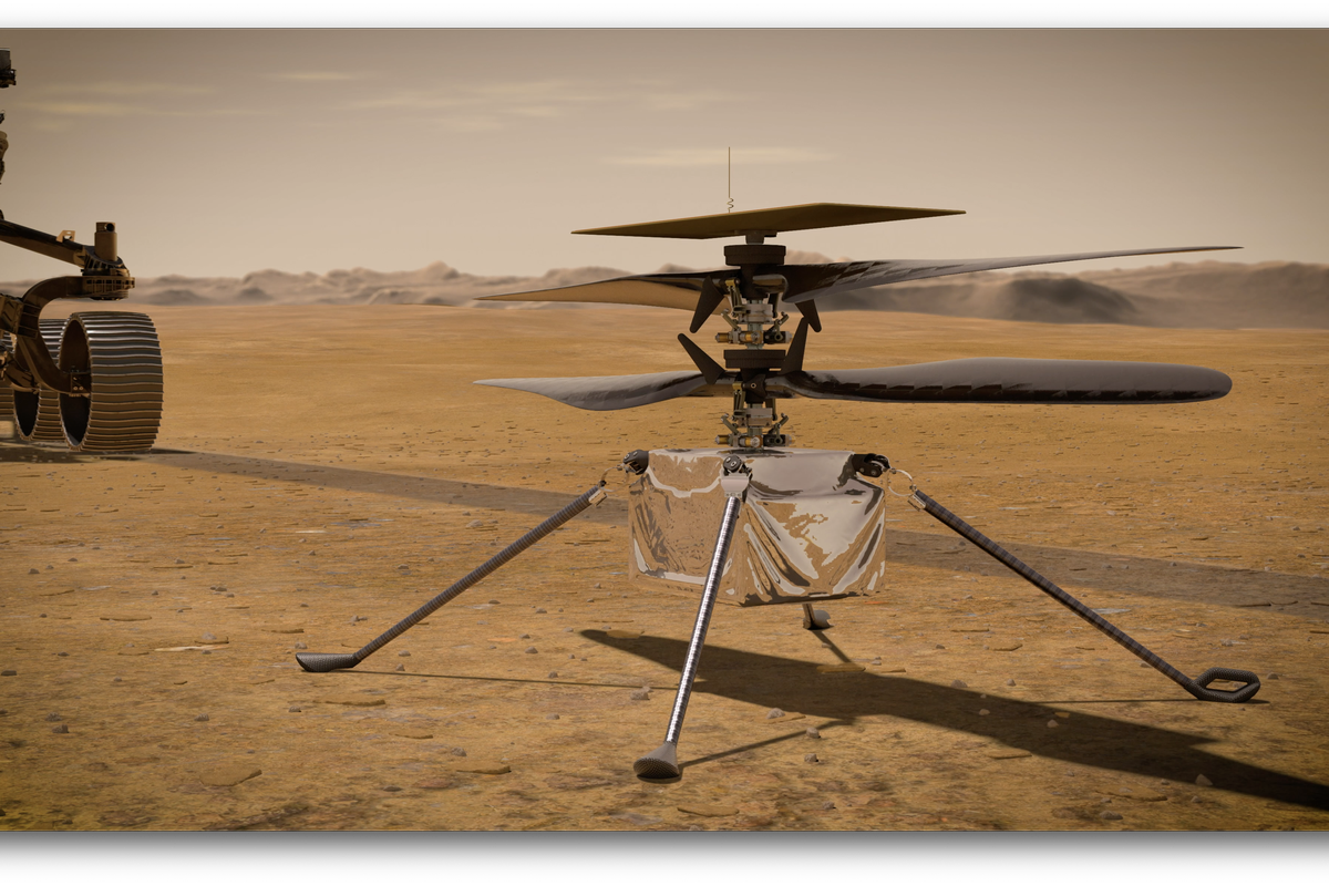 NASA plans first flight of Mars helicopter Ingenuity on April 8