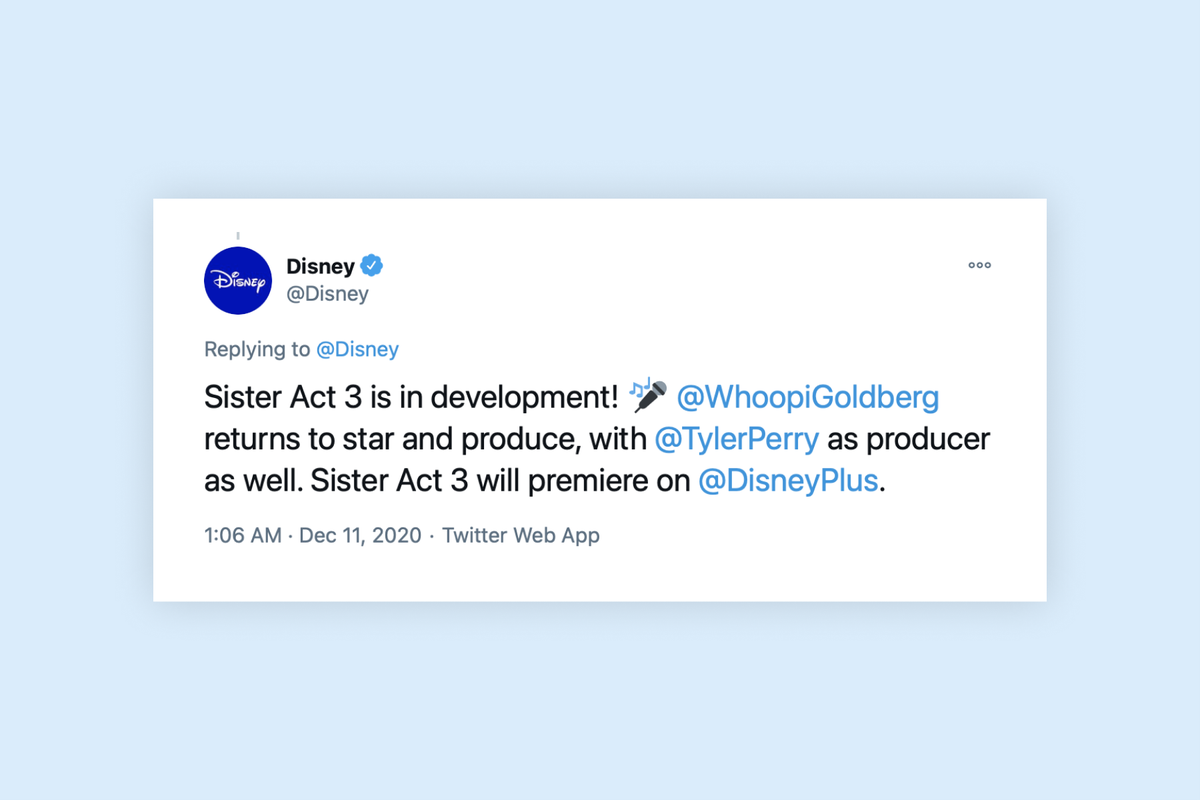 'Sister Act 3' production confirmed, Whoopi Goldberg to star and produce