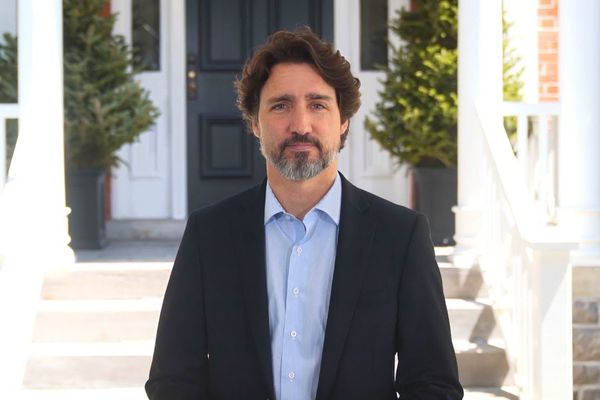 Justin Trudeau in May 2020