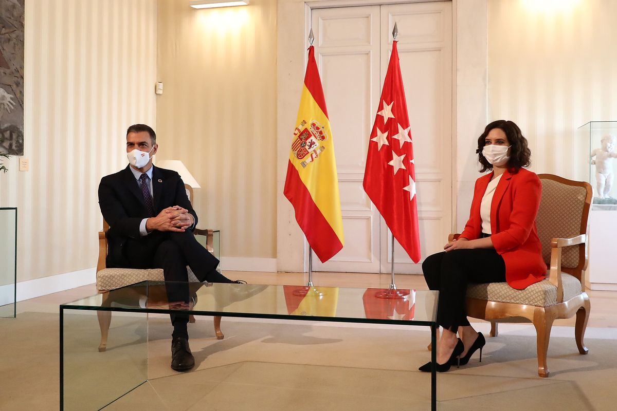 Spain: Prime Minister meets Madrid chief over joint Covid-19 measures
