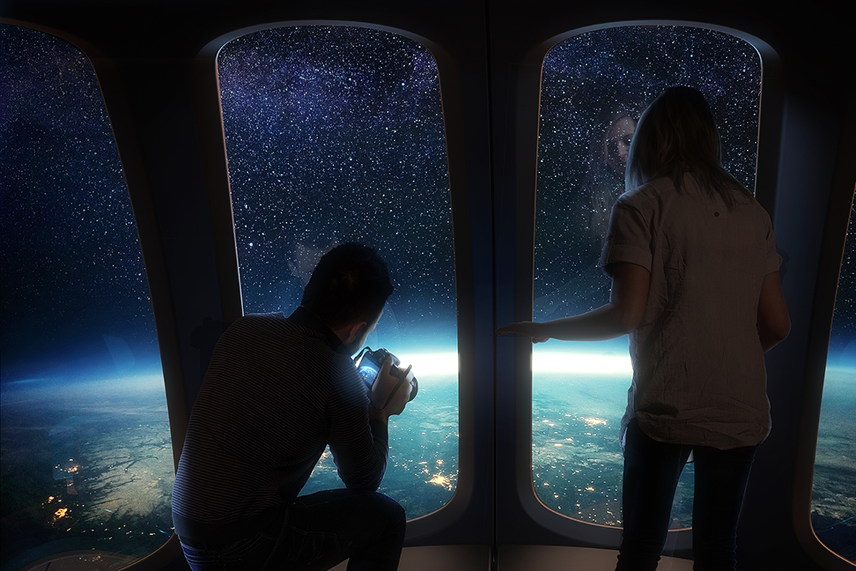 Space Perspective plans to take tourists to the stratosphere