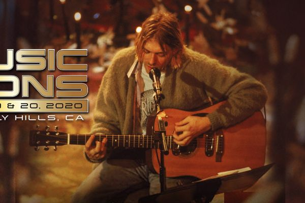 Kurt Cobain's MTV Unplugged guitar sold in auction for 6 million dollars