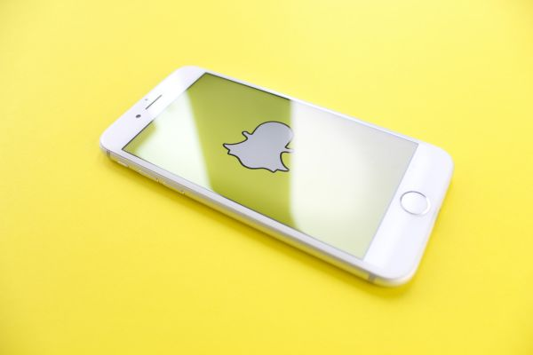 Snapchat on iPhone