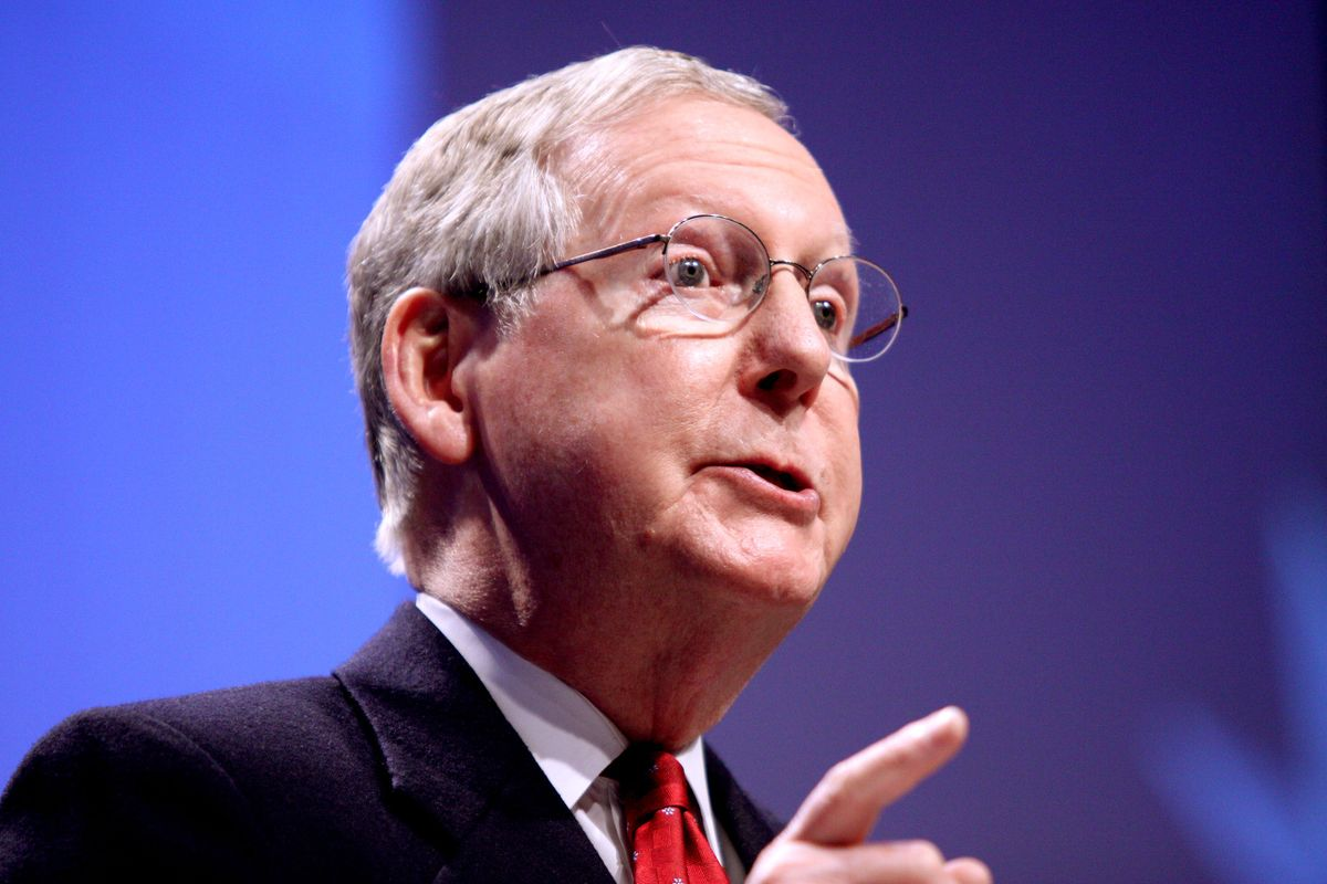 McConnell criticises Rep. Marjorie Greene for conspiracy theories