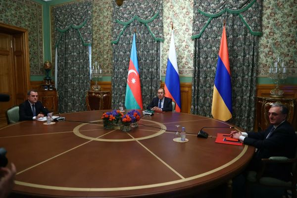 Armenia and Azerbaijan agree on cease-fire during Moskow negotiations