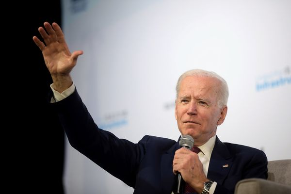 """Biden speaks from Delaware, says """"I am here to report when the count is finished, we believe we will be the winners"""""""