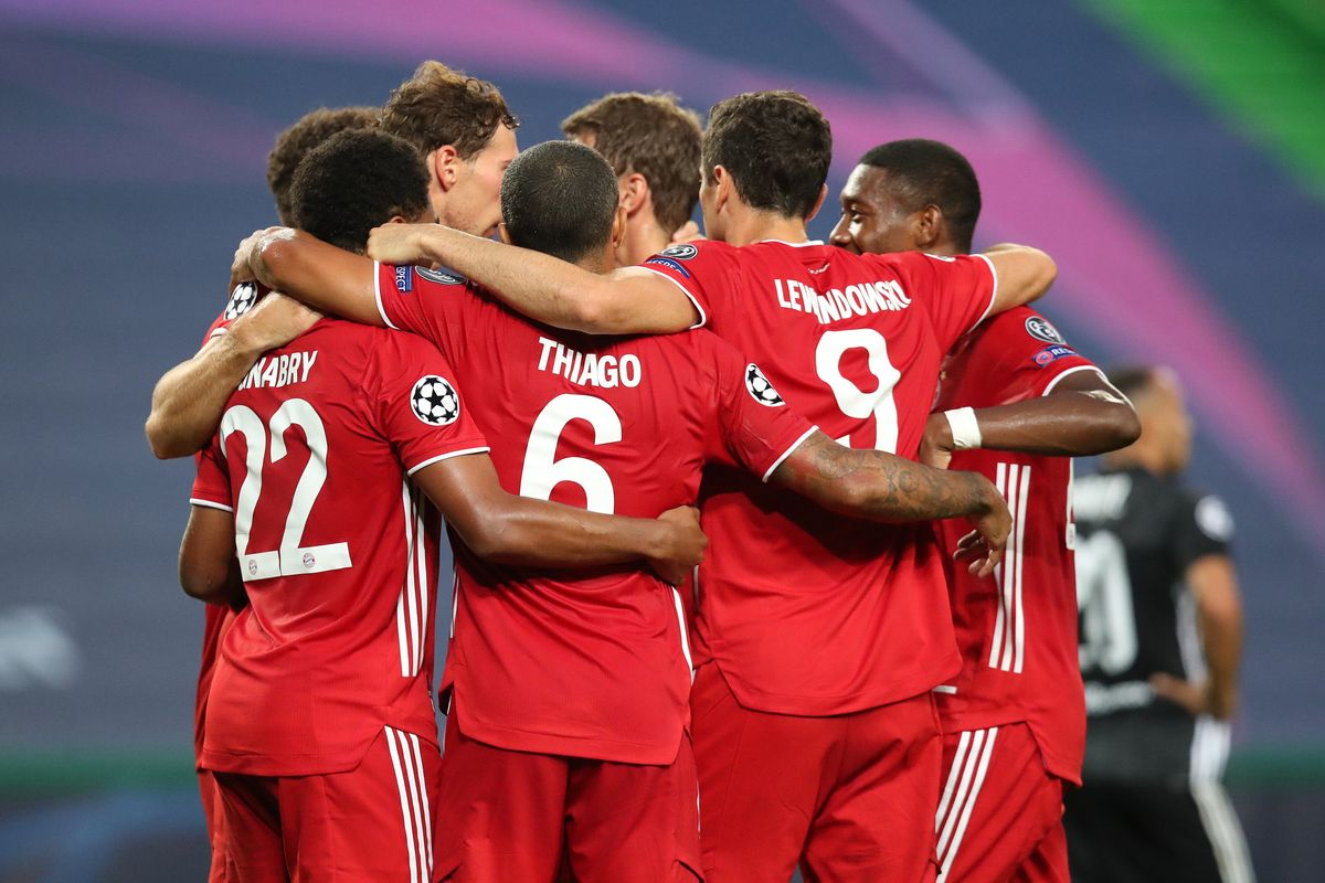 Bayern breeze past Lyon to face PSG for the Champions League title