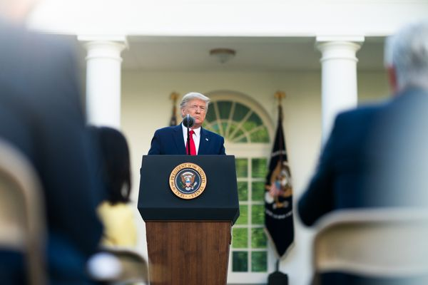 President Trump shows coldlike symptoms, received a single dose of experimental Covid-19 treatment