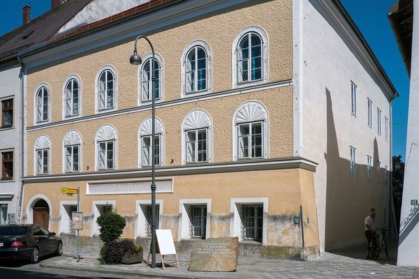 Adolf Hitler's birthplace in Braunau, Austria