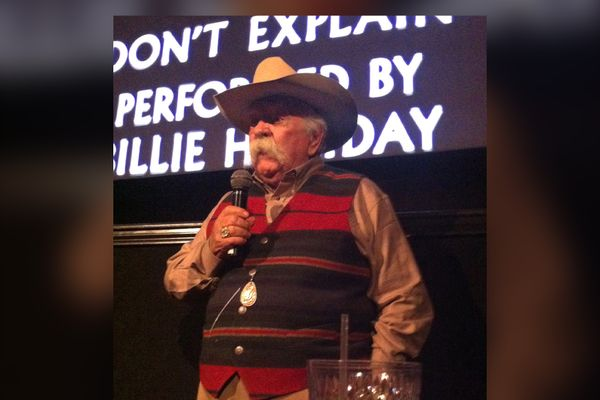 Wilford Brimley on October 22, 2012