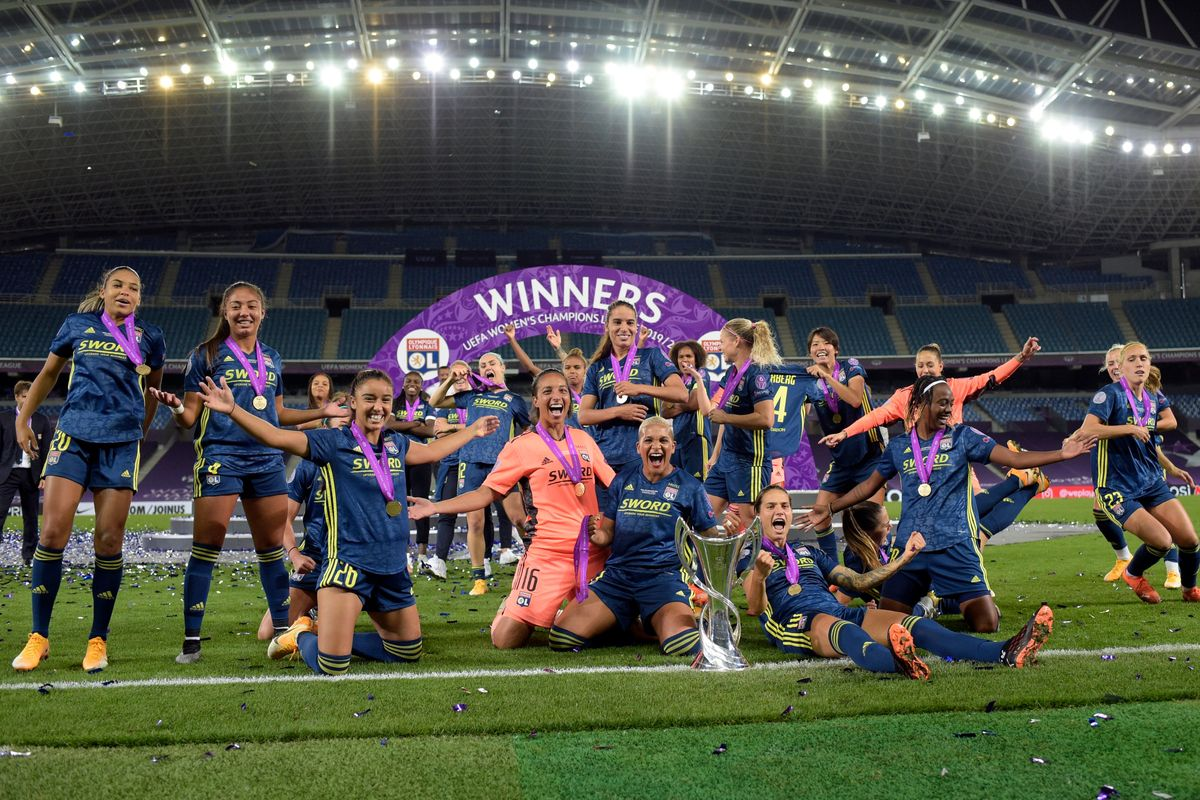 Lyon win the UEFA Women's Champions League for the fifth time in a row