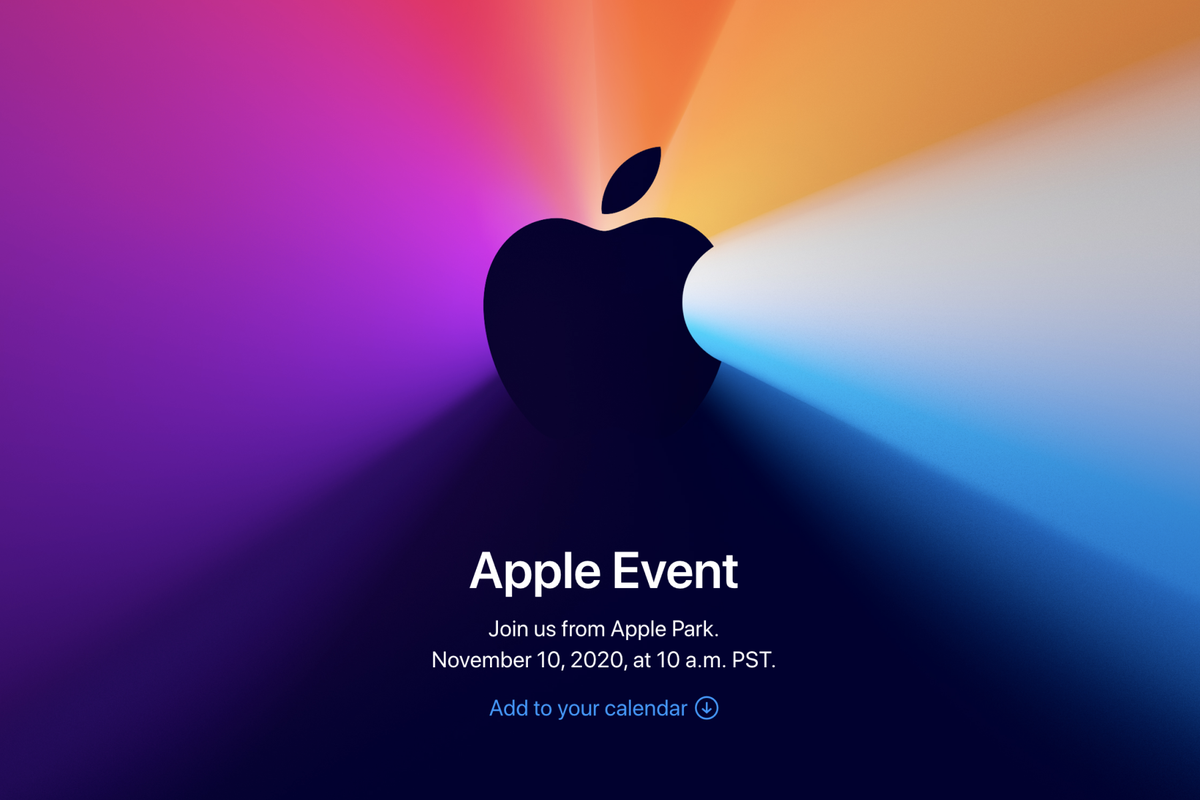 """One More Thing"" – Apple announces event for November 10th"
