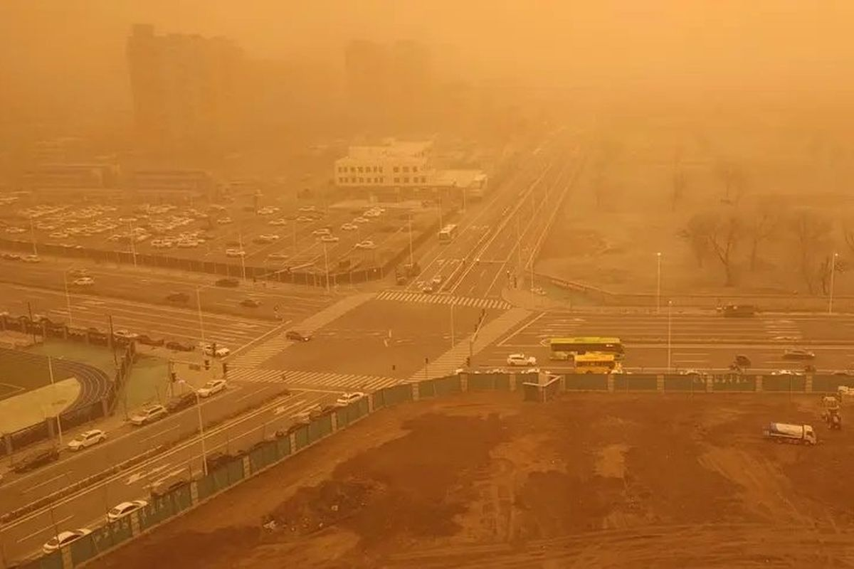 Beijing flights cancelled after China's worst sandstorm in a decade