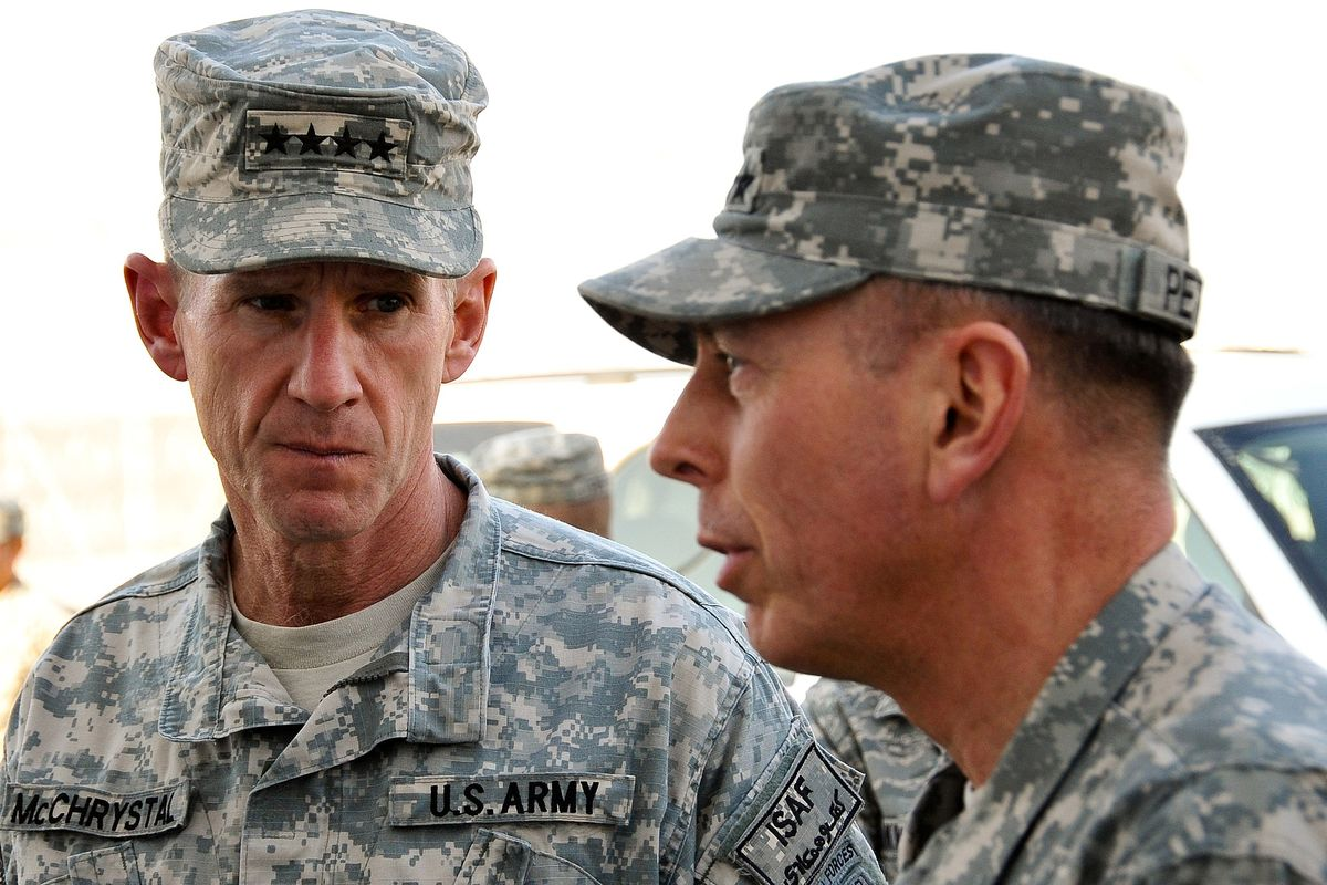 United States general endorses Biden after being fired for attacking Biden