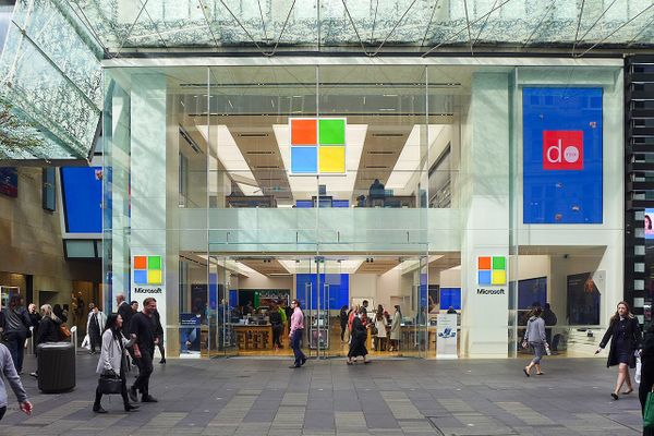Microsoft Store in Sydney