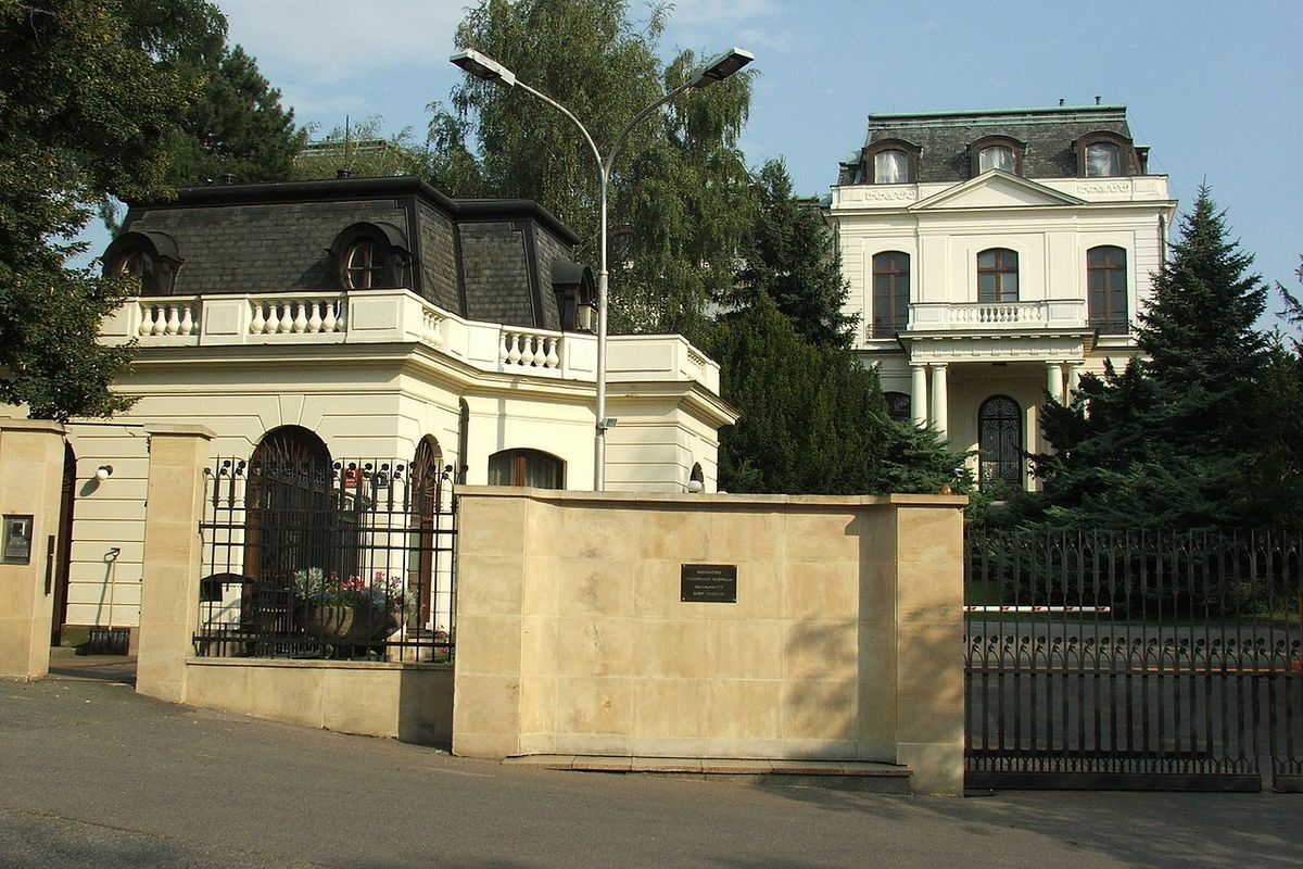 The Czech Republic expelled 18 Russian Embassy staff over the 2014 blast