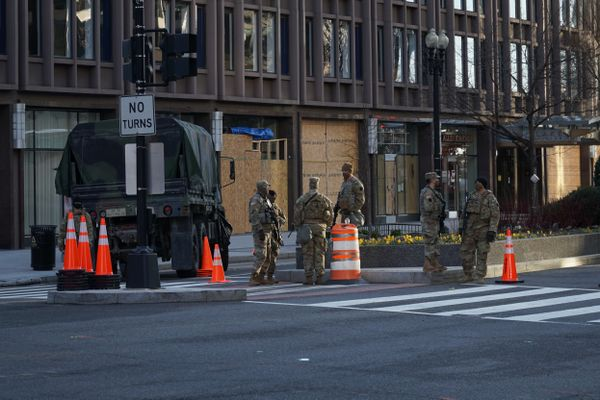 FBI checks National Guards for Biden inauguration security risks
